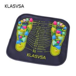MyXL Reflexologie Walk Stone Voet Been Pijn Verlichten Relief Walk Massager Mat Gezondheidszorg Acupressuur Mat Pad massageador <br />  KLASVSA