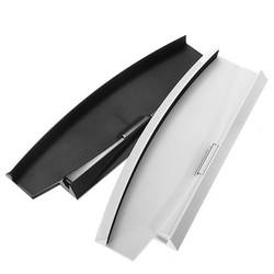 MyXL Zwart/Wit Kleur Verticale Stand Dock Base Eenvoudige Ontwerp Voor Sony Playstation 3 Slim Console Voor PS3 2000 Serie <br />  ShirLin