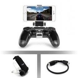 MyXL Game controller gamepad houder clip mount cradle uitschuifbare mobiele telefoon stand klem met otg kabel voor sony playstation 4 ps4 <br />  ALLOYSEED