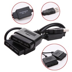 MyXL Controller Adapter Converter voor Sony PS1 PS2 naar PC USB 2.0 Wired Controller <br />  ALLOYSEED