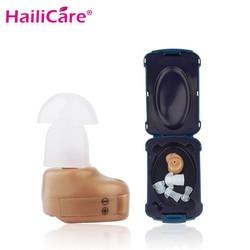 MyXL Mini Gehoorapparaat Ear Sound Enhancement Digitale Beste Onzichtbare Deaf Volume Geluidsversterkers Oor Aid Verstelbare Tone Ear Plug <br />  Hailicare