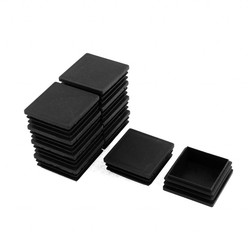 MyXL 2 &quot;Zwart Plastic Vierkante Tubing Plug Eindkap Insert Cover 10 Stks <br />  X Autohaux