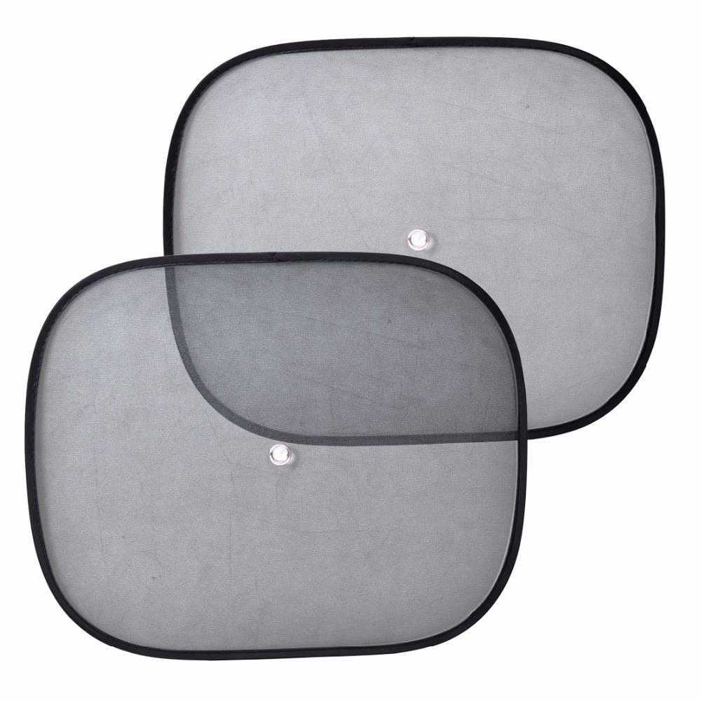 2 stks Opvouwbare Auto Zijruit Zonnescherm Screen Vizier Shield Cover Solar Bescherming Raamfolies V