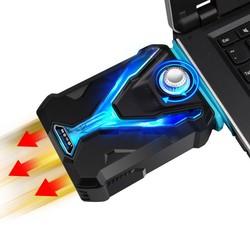 MyXL IJS COOREL Laptop Koeler Snelle Dropdown CPU Temperatuur Smart Laptop Cooling Pad Krachtige Ventilatie Fans Voor 12-17 inch Notebook