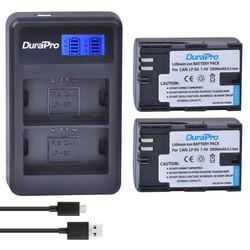 MyXL 2 st LP-E6 LP-E6N LP E6 E6N Oplaadbare Li Batterij + LCD USB Dual Charger Voor Canon EOS 5D Mark II III 7D 60D 6D batterij