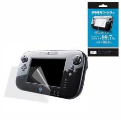 MyXL Clear Beschermfolie Joypad Oppervlak Guard Cover voor Nintendo Wii U Gamepad WiiU LCD Transparante Screen Protector