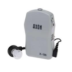 MyXL Gezondheid Pocket Mini In Ear Gehoorapparaat Geluidsversterkers met 2 Size Oordopje Volume Verstelbare Audiphone Luidspreker Deaf Aid X-136