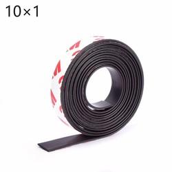 MyXL 10 Meters zelfklevende Flexibele Magnetische Strip 3 M Rubber Magneet Tape breedte 10mm dikte 1mm10*1