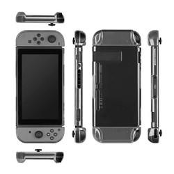 MyXL Transparante Draagbare Clear Beschermende Shockproof Hard Case Achterkant Anti-ScratchSkin Shell Voor Nintend Schakelaar Game Accessoire