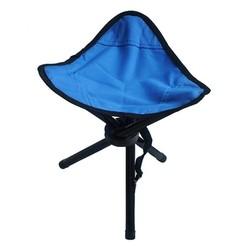 MyXL Blauw Outdoor Stoel Krukken Draagbare Opvouwbare Driehoekige Kleine Size Vissen Picknick Strand H193-3