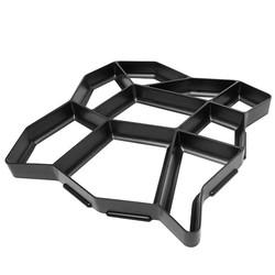 MyXL 1 Stks DIY Plastic Path Maker Schimmel Handmatig Bestrating/Cement Baksteen Mallen De Stone Road Hulpgereedschappen Voor Tuin Decor