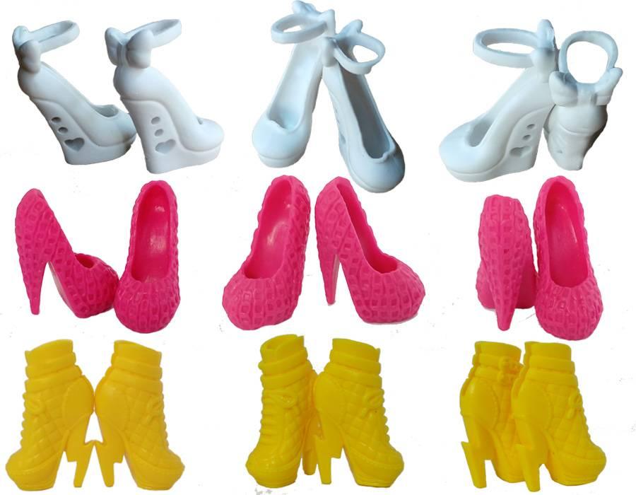 10 paren-partijKleurrijke Accessoires Schoenen Voor Monster Hoge Pop Mode Laarzen Hoge Hakken Sandal