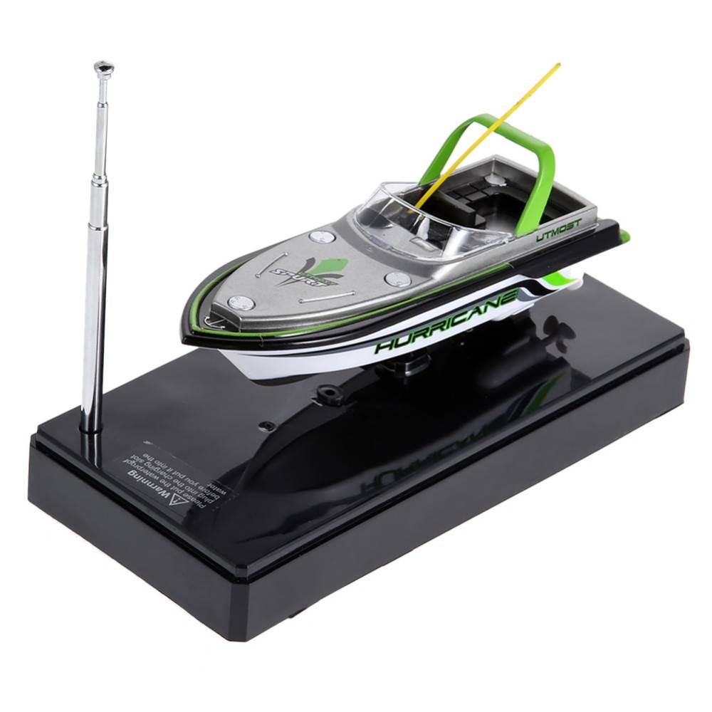Mini Boot Radio Elektrische Afstandsbediening RC Super Mini Speedboot Dual Motor voor Kids Kinderen