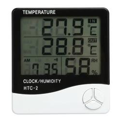 MyXL LCD Digitale Thermometer Hygrometer Indoor Elektronische Temperatuur-vochtigheidsmeter Klok Weerstation Huishoudelijke Thermometers