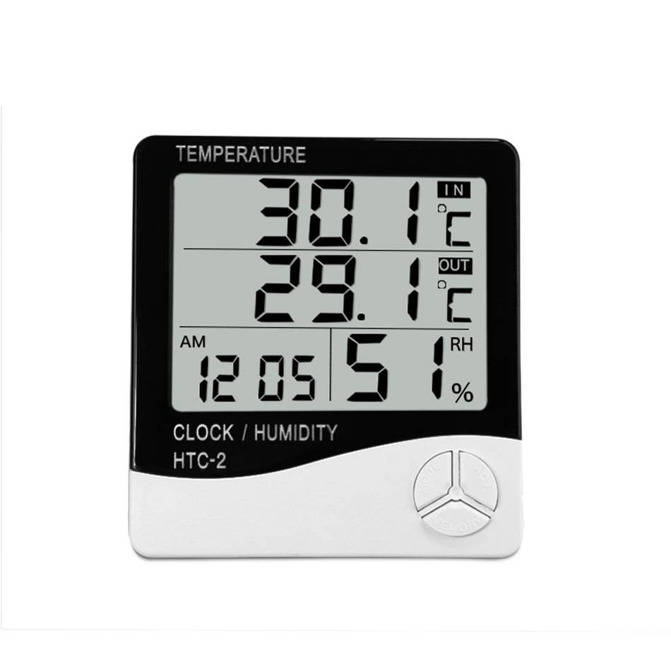 1 St Nuttig Indoor Temperatuur-vochtigheidsmete... - Technic warenhuis