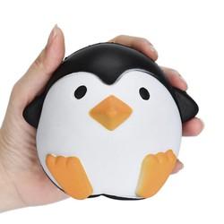 MyXL 12 CM anti stressbal Squeeze Speelgoed kawaii jumbo squishy speelgoed trage stijgende dieren pinguïn stress speelgoed voor kids stretchy speelgoed