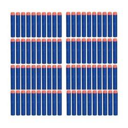 MyXL 50 Stks Zachte Holle Gat Hoofd 7.2 cm Refill Darts Speelgoed Pistool Kogels voor Nerf Series Blasters Xmas Kid Giftkoop
