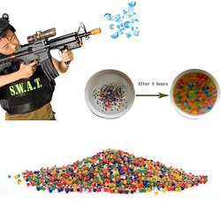 MyXL 10000 stks/packet 9-13mm gekleurde orbeez zachte crystal water paintball gun bullet groeien water kralen groeien ballen waterpistool speelgoed