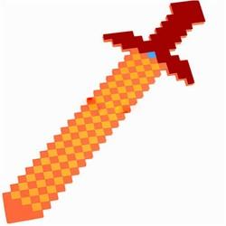 MyXL Stijl Kleurrijke Minecraft Zwaard 76*20 cm Bestevoor Kids Jongens Meisjes baby speelgoed minecraft gun & diamond outdoor speler
