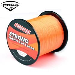 MyXL 1 ST Nylon Lijn 500 M Oranje Vislijn 9.2 kg Monofilament Lijn Japan Materiaal BKY-BG dezelfde kwaliteit Vislijn
