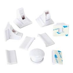 MyXL Magnetische Baby Kind Kast Veiligheid Sloten Kindveilige Magnetische Kast Lade Sloten, magnetische Vergrendeling met 8 Sloten 2 Toetsen