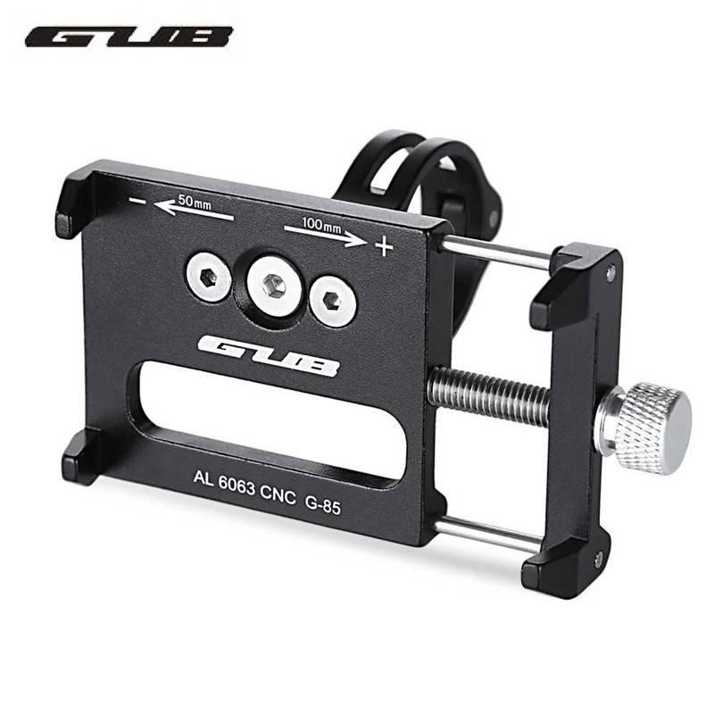GUB G-85 Aluminium MTB Fiets Telefoon Houder Ondersteuning GPS Voor Bike Stuur Fietsen Accessoires