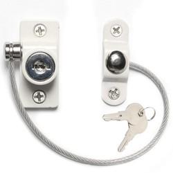 MyXL 2 stks Baby Veiligheidsslot Venster Deur Kabel Restrictor Ventilator Kind Veiligheid Security Locking Ingetoetst Opening Restrictor