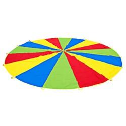 MyXL 2 m 78' Big Size Parachute Outdoor Games Gymnastiek Speelgoed Kind Sport Ontwikkeling Regenboog Paraplu Jump-sack Ballute