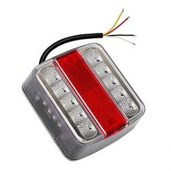 MyXL 14 leds Auto Waarschuwingslichten Brake Stop Lamp DC 12 V auto Styling Trailer Boot Caravan Achterlicht LED Vrachtwagen Achterlicht waterdichte