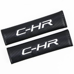 MyXL Auto Styling Seat Belt Cover Pad fit voor Toyota C-HR avensis auris hilux Corolla Camry RAV4 Auto-styling