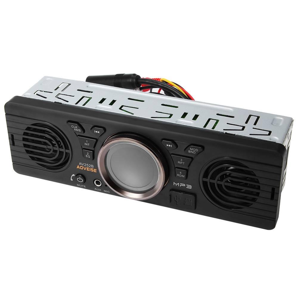AV252B 12 V USB TF Bluetooth 2.1 + EDR Auto Audio Mp3-speler Elektronica In-dash Auto Stereo FM Radi