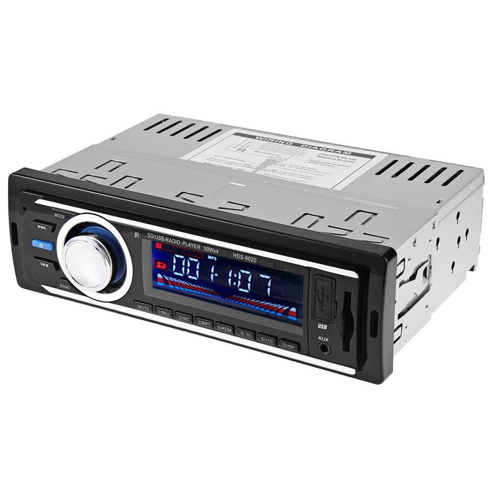 Car Audio speler 12 V Autoradio Auto Audio Stereo Mp3-speler AUX FM USB SD In Dash 1 DIN Auto Elektr