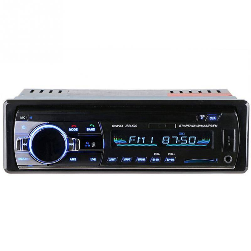 12-24 V Bluetooth Auto Stereo FM Radio MP3 Audio Player Charger USB SD AUX Auto Elektronica Subwoofe