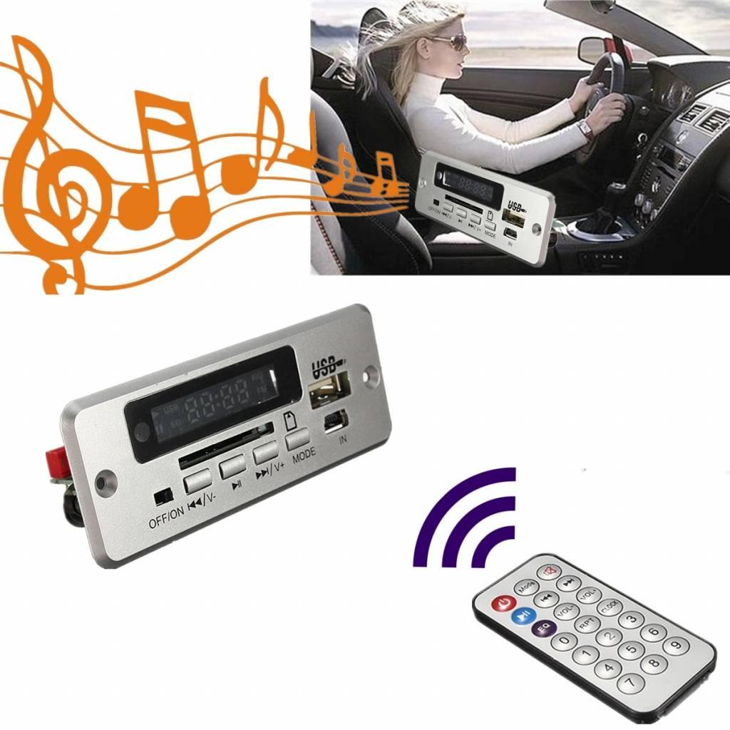 Draadloze Mp3-speler Geïntegreerde WMA Decoder Board Audio Module USB TF Radio Voor Auto Rode Digita