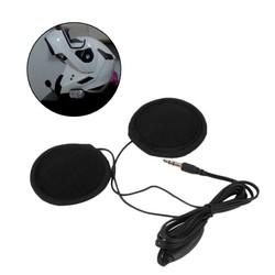 MyXL 3.5mm Motorbike Motorhelm Stereo Luidsprekers Hoofdtelefoon Volumeregeling Oortelefoon voor MP3 GPS Telefoon Muziek