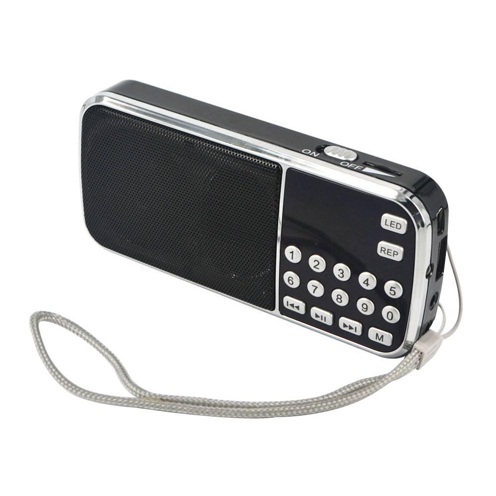 KebidumeiDraagbare HIFI Mini Speaker Mode L-088 MP3 Audio Player Zaklamp Versterker Micro SD TF FM R
