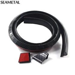 MyXL 1.5 M Universele Auto Spoiler Carbon Achterspoiler Dak Vleugels kofferbak Lip 3D Sticker Kit Staart Rubber Body Trim Auto accessoires