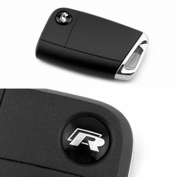 MyXL 2 stks sleutelhanger logo classical nr emblem fit vw sleutel MK7 Golf7 gti