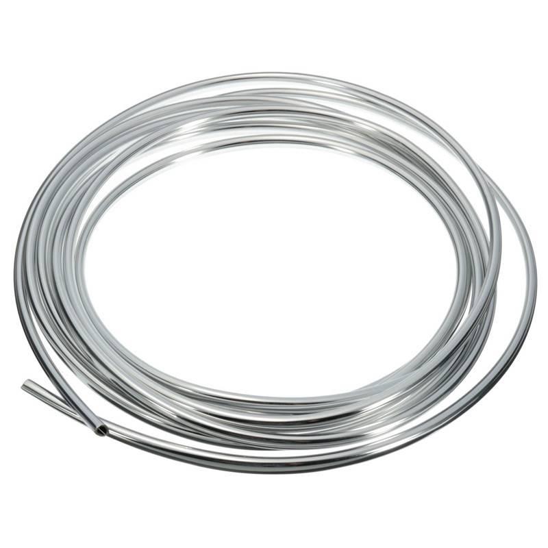 4 M PVC Zilveren Auto-interieur Decoratieve Decoratie Deur Chrome Moulding Trim Strip U Stijl