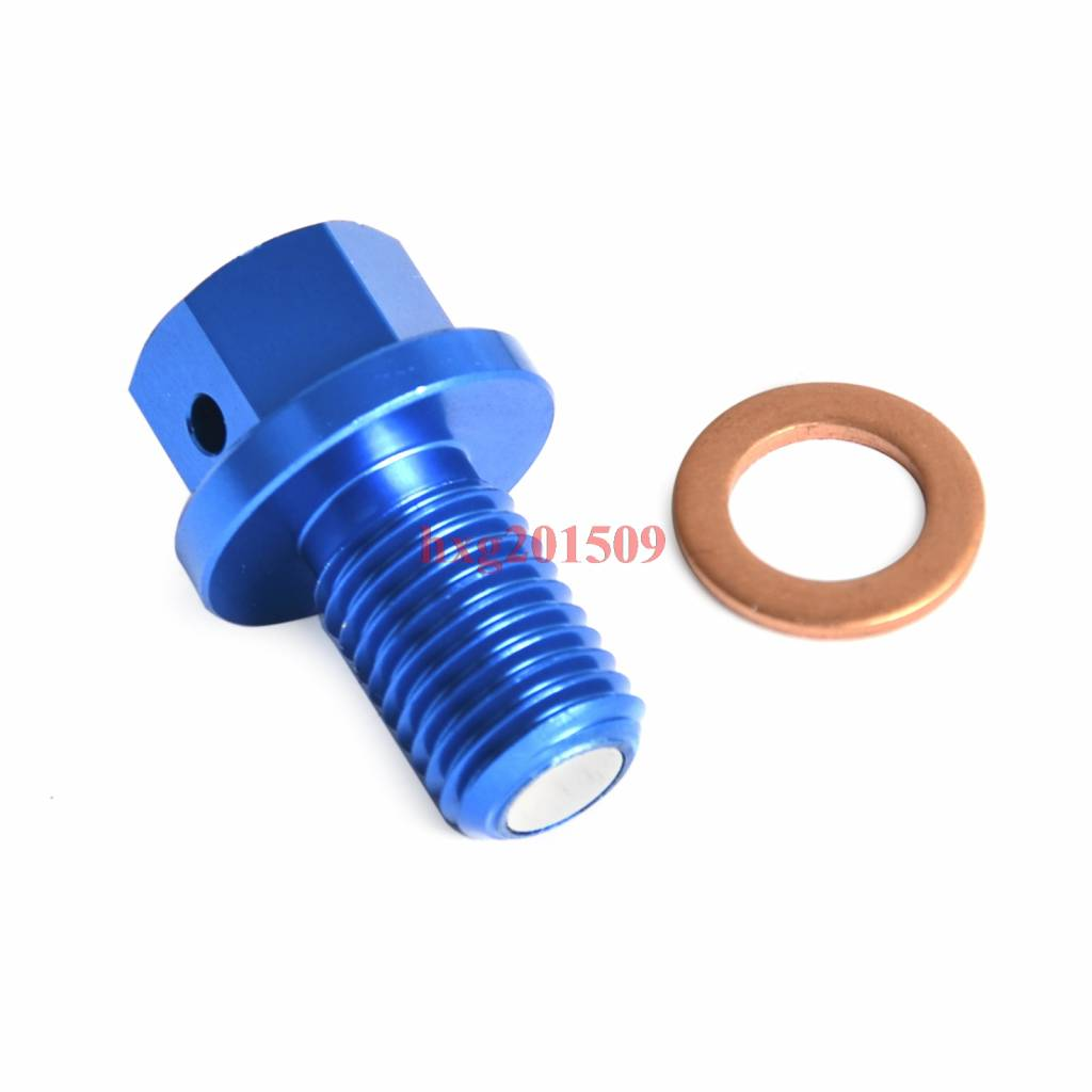 Magnetische aftapbout plug voor yamaha yz125 2005-yz250f 2001-yz250fx 2015-yz450fx 2016-wr250f 2001-