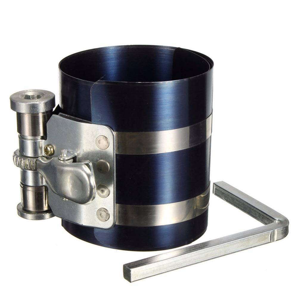 "3 ""Auto Motor Zuigerveer Compressor Tool Installer Band Ratelend 53-125mm Drop"
