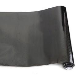 MyXL Universele 150x35 cm Zwarte Auto Wrap Roll Sticker PVC 5D Carbon Vinyl Folie Film Decal Voor VW/BMW/Honda/Toyota