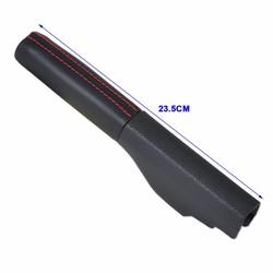 MyXL CITALL Zwart Lederen Hand Handrem Cover 1K0711461E 1KD711461 Een voor VW Jetta MK5 Golf Konijn GTI MK5 MK6 Konijn EOS