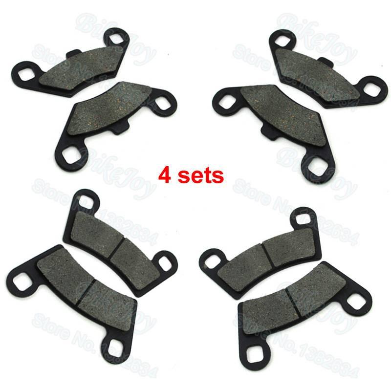 Voor Remblokken Voor Polaris Scheermes RZR 800, RZR 800 S & RZR 570