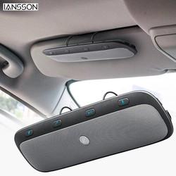 MyXL NieuweTZ900 Zonneklep Draadloze Bluetooth Handsfree Carkit Speakerphone Audio Music Speaker voor iPhone samsung Smartphones