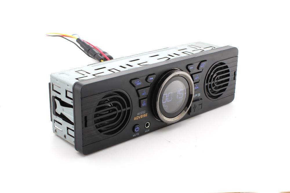 1 din Autoradio Mp3-speler Ingebouwde 2 speaker ondersteuning USB SD AUX Bluetooth FM Radio Ontvange