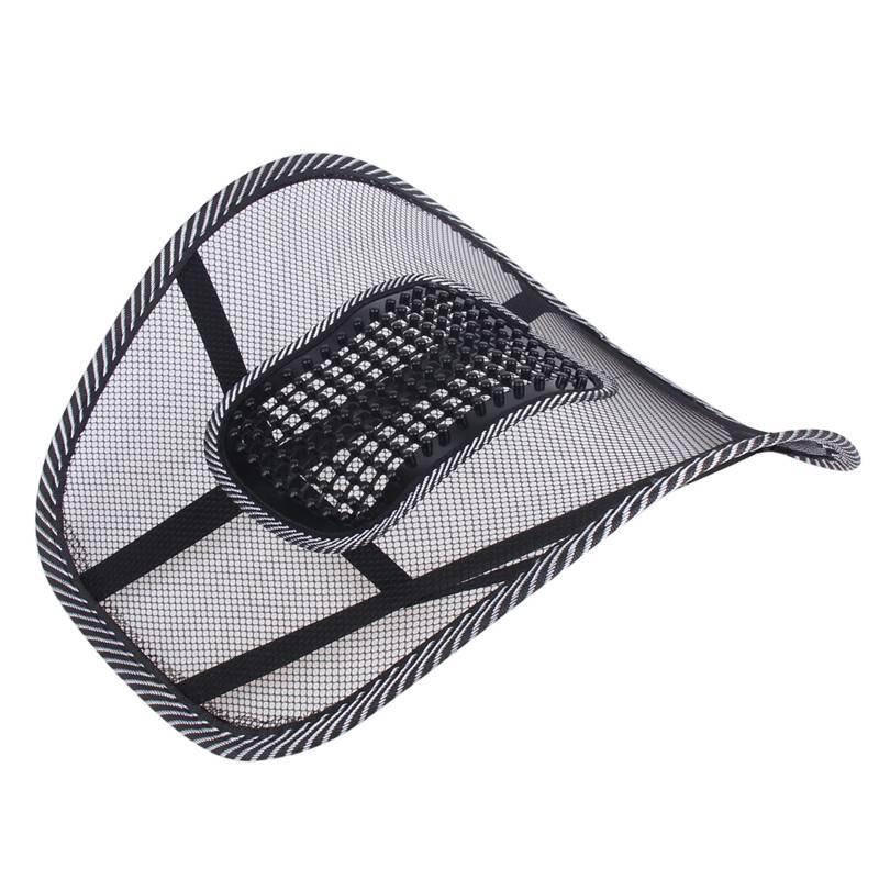 Autostoel Stoel Terug Massage Lendensteun Taille Kussen Mesh Ventileren Kussen Voor Car Office Home
