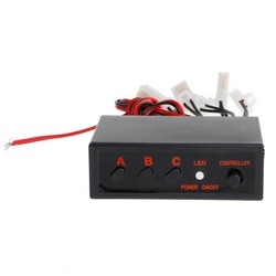 MyXL 6 Manieren LED Strobe Flash Licht Lamp Nood Knipperende Controller Box DC 12 V Auto