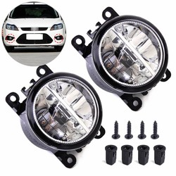 MyXL DWCX 2x Rechts Links LED Mistlamp Lamp AC2592111 4F9Z15200AA 33900STKA11 voor Ford Focus Honda Acura Lincoln Nissan Subaru Suzuki