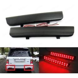 MyXL 2x Zwart Range Rover L322 Freelander 2 Achterbumper Reflector LED Remlicht DRL (CA187)